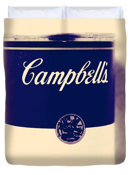 Campbells Soup Duvet Cover
