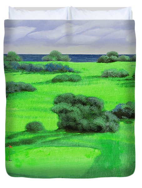 Campo Da Golf Duvet Cover