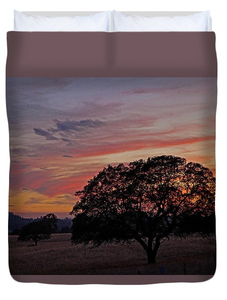 Campo Sunset Duvet Cover