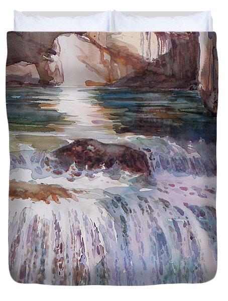 Canada Cascade Duvet Cover