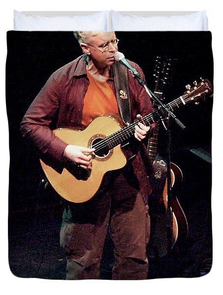 Canadian Folk Rocker Bruce Cockburn In 2002 Duvet Cover