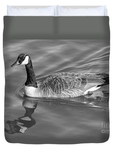 Canadian Goose Duvet Cover