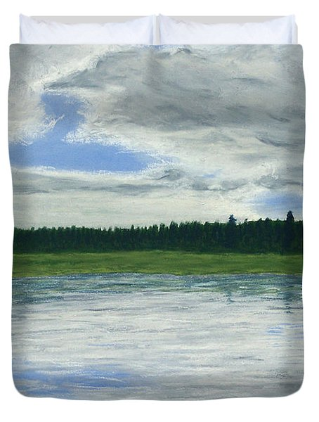 Canadian Serenity Duvet Cover