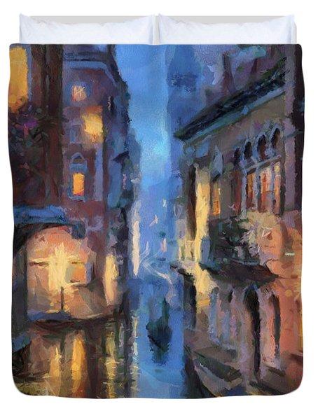 Canale Venice Duvet Cover