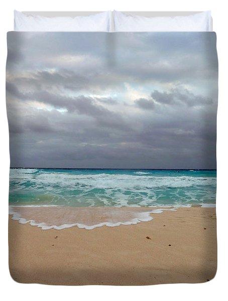 Cancun - Dark Sky Duvet Cover