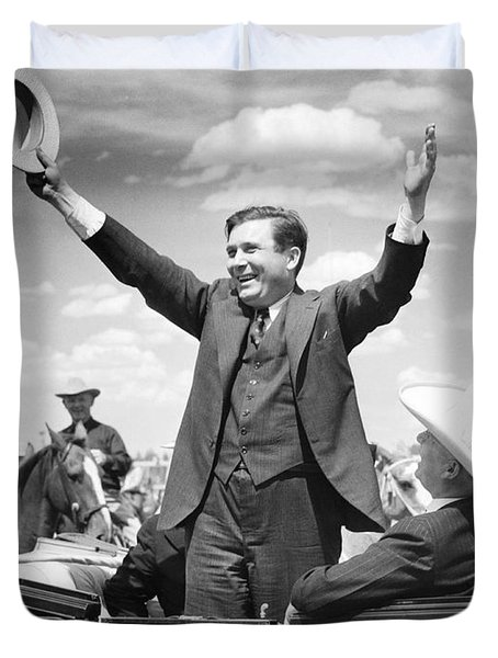 Candidate Wendell Willkie Duvet Cover