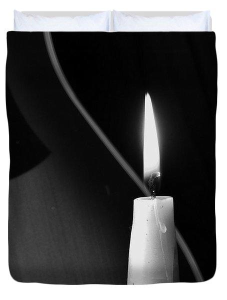 Candle Light Serenade Duvet Cover