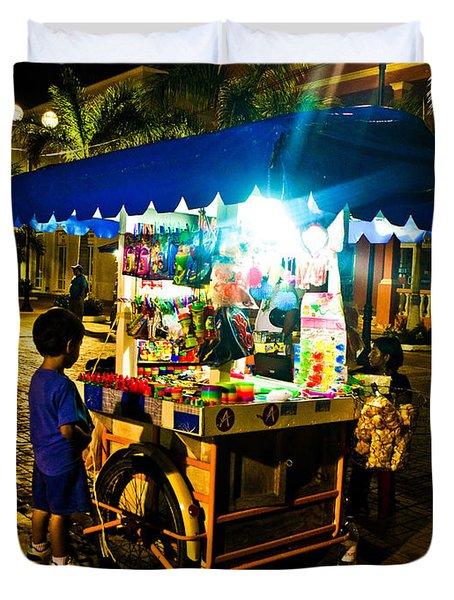 Candy Cart Duvet Cover