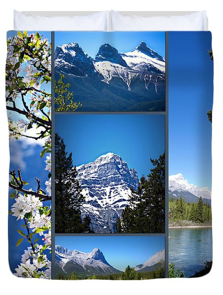 Canmore Alberta Duvet Cover