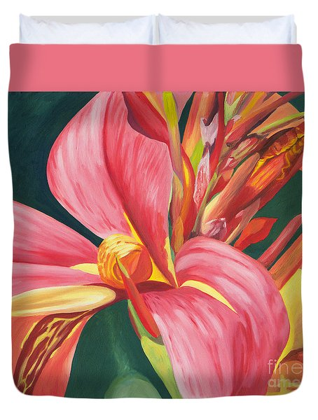Canna Lily 2 Duvet Cover