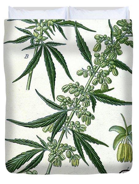 Cannabis Duvet Cover
