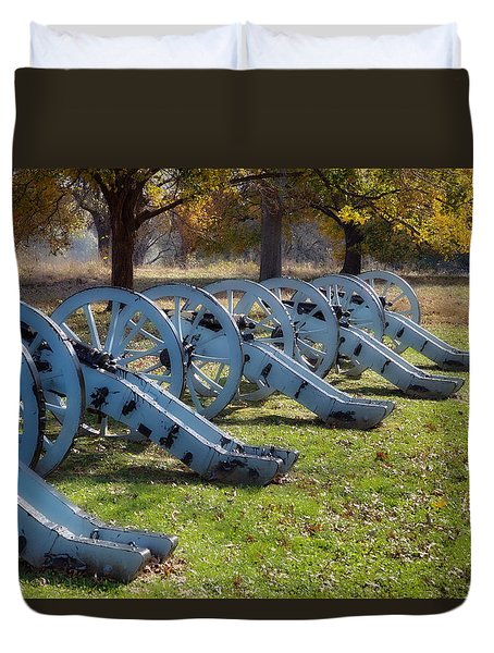 Canon Formation Duvet Cover