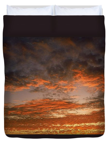 Canvas Sky Duvet Cover
