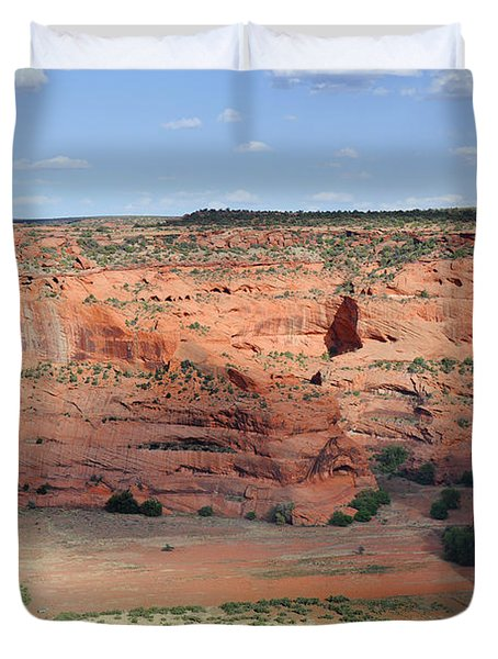Canyon De Chelly Near White House Ruins Duvet Cover by Christine Till