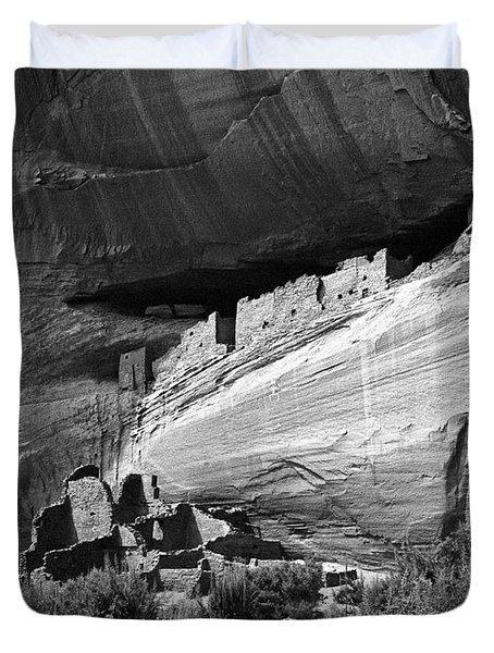 Canyon De Chelly Duvet Cover by Steven Ralser