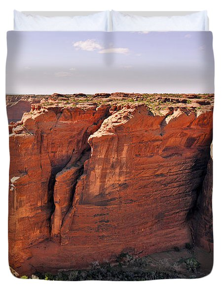 Canyon De Chelly - View From Sliding House Overlook Duvet Cover