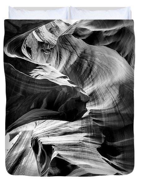 Canyon Flow Duvet Cover by Az Jackson