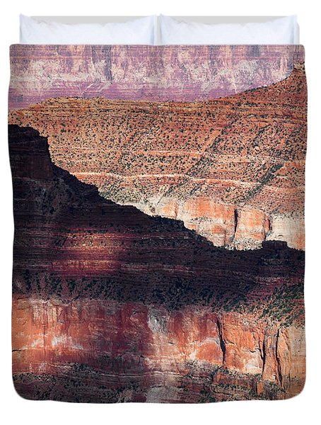 Canyon Layers Duvet Cover by Dave Bowman