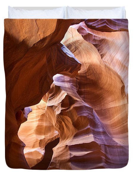 Canyon Walls Duvet Cover by Bryan Keil