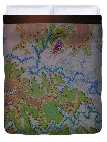 Canyonlands Island In The Sky Duvet Cover