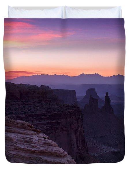 Canyonlands Sunrise Duvet Cover
