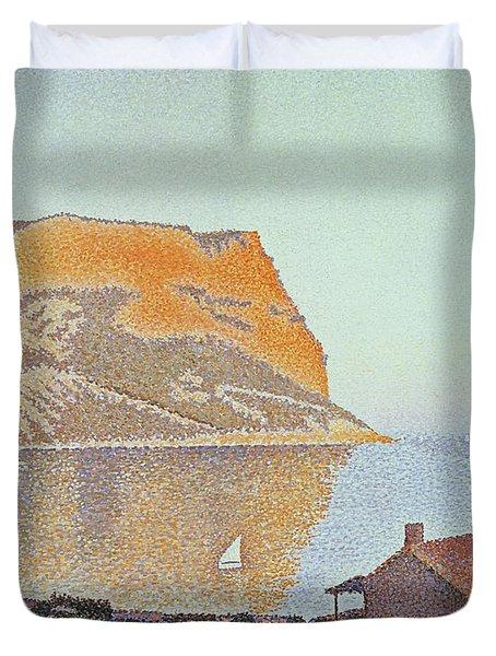 Cap Canaille Duvet Cover by Paul Signac