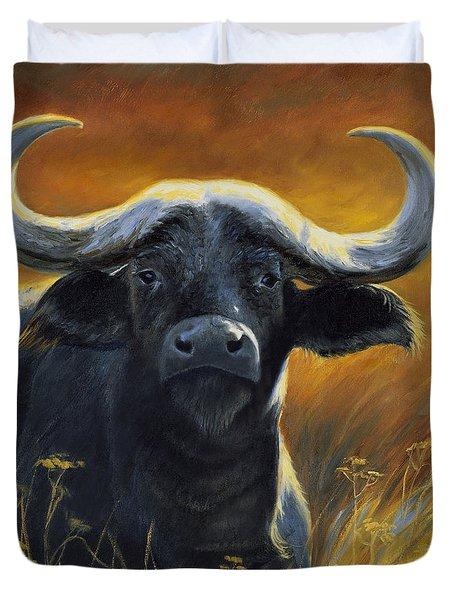 Cape Buffalo Duvet Cover