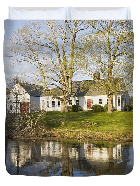 Cape Cod Style House Bristol Maine Photograph By Keith