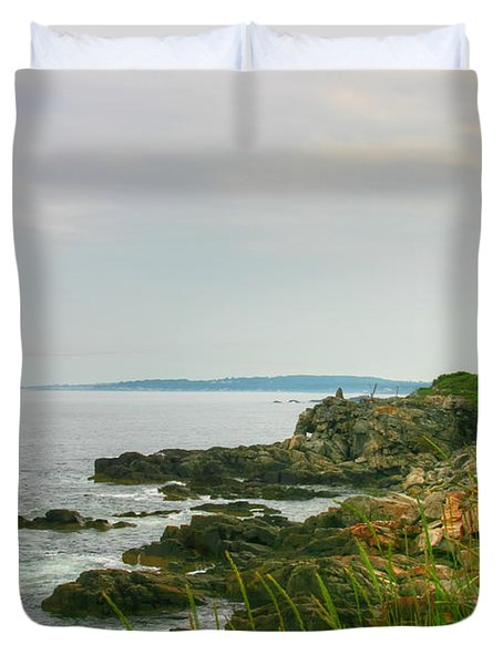 Cape Elizabeth Maine Duvet Cover