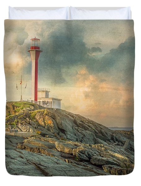 Cape Forchu  Duvet Cover