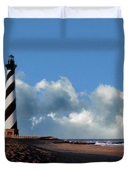 Cape Hatteras Lighthouse Nc Duvet Cover