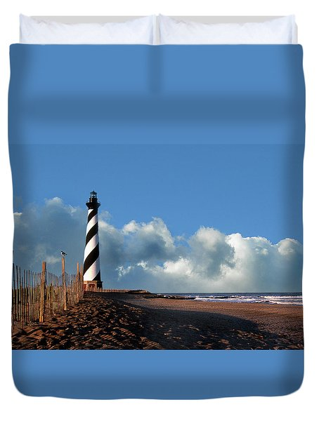 Cape Hatteras Lighthouse Nc Duvet Cover