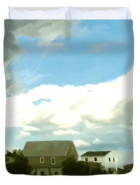 Cape House Duvet Cover by Paul Tagliamonte