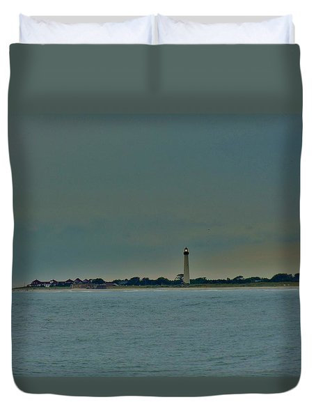 Cape May Point Duvet Cover by Ed Sweeney