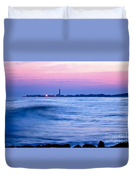 Cape May Seascape Duvet Cover