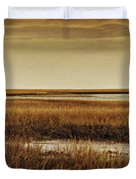 Cape Romaine Duvet Cover by Bruce Bain