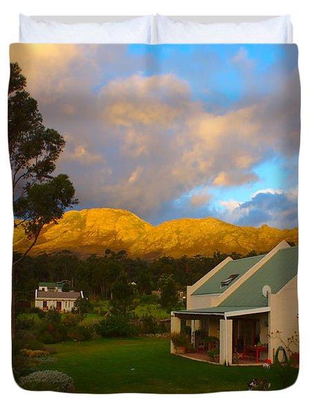 Cape Sunset Duvet Cover