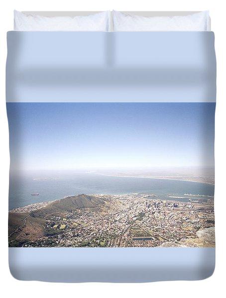 Cape Town Panorama Duvet Cover by Shaun Higson