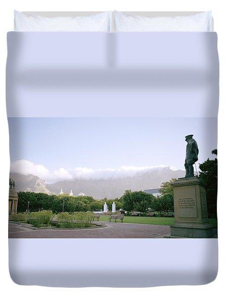 Cape Town Twilight Duvet Cover by Shaun Higson