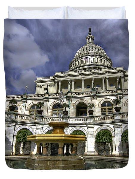 Capitol Fountain Duvet Cover