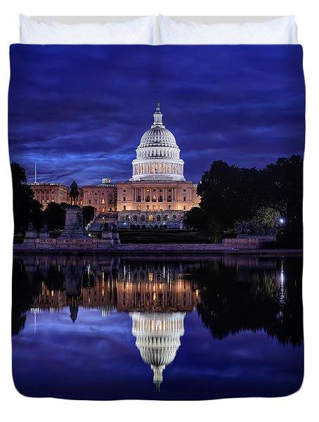 Capitol Morning Duvet Cover