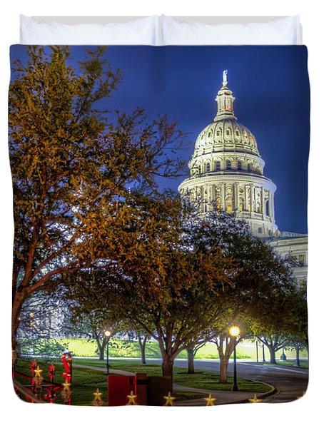 Capitol Stars Duvet Cover