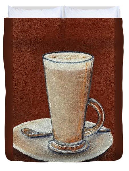 Cappuccino Duvet Cover by Anastasiya Malakhova