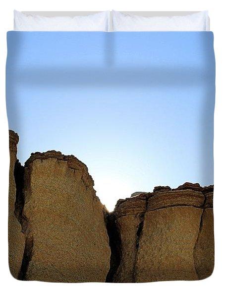 Caprock Butte Duvet Cover
