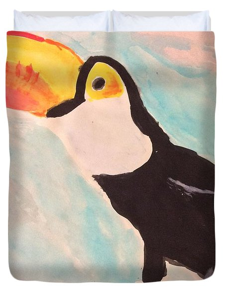 Captive At Leeds Duvet Cover