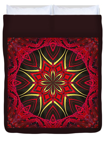 Duvet Cover featuring the photograph Captive Star  by I'ina Van Lawick