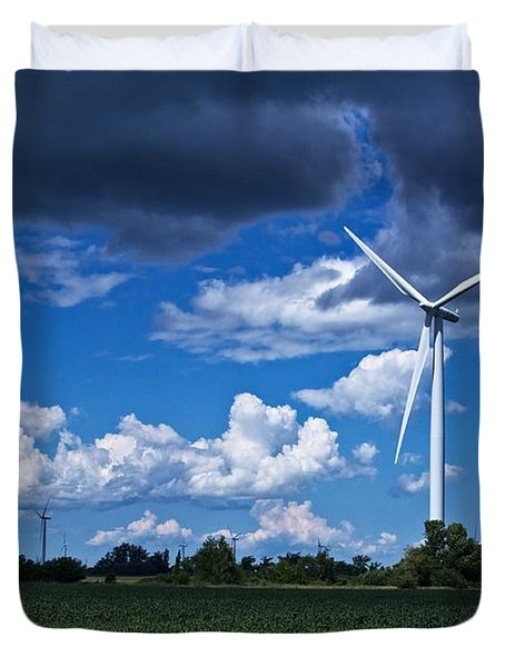 Capture The Wind Duvet Cover