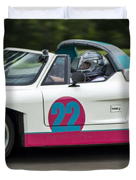 Car No. 22 - 02 Duvet Cover