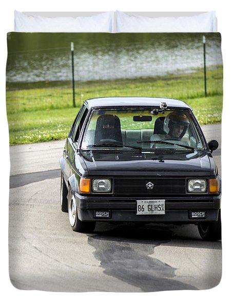 Car No. 76 - 02 Duvet Cover