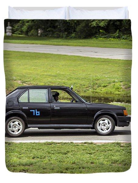 Car No. 76 - 04 Duvet Cover